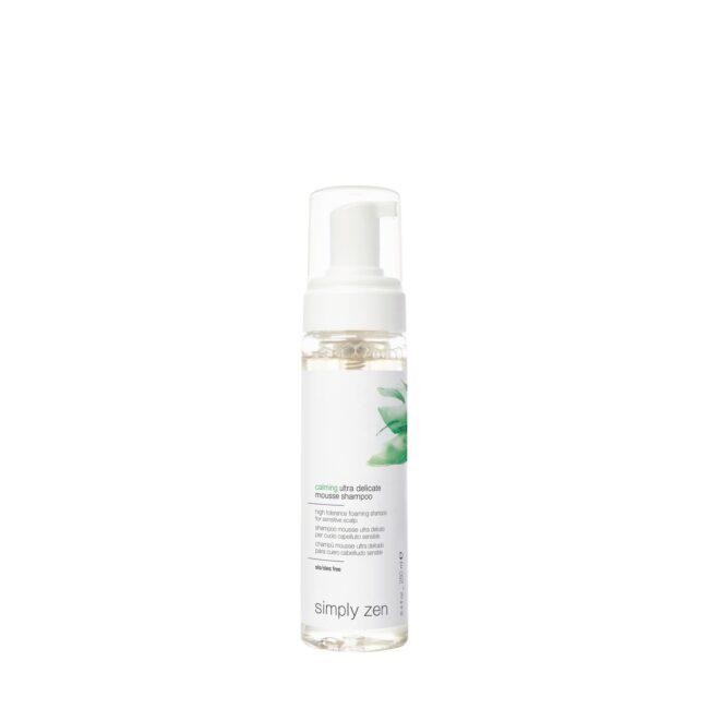 6 IMG SZ singole prodotti 1500x1500px 72 DPI calming ultra delicate mousse shampoo