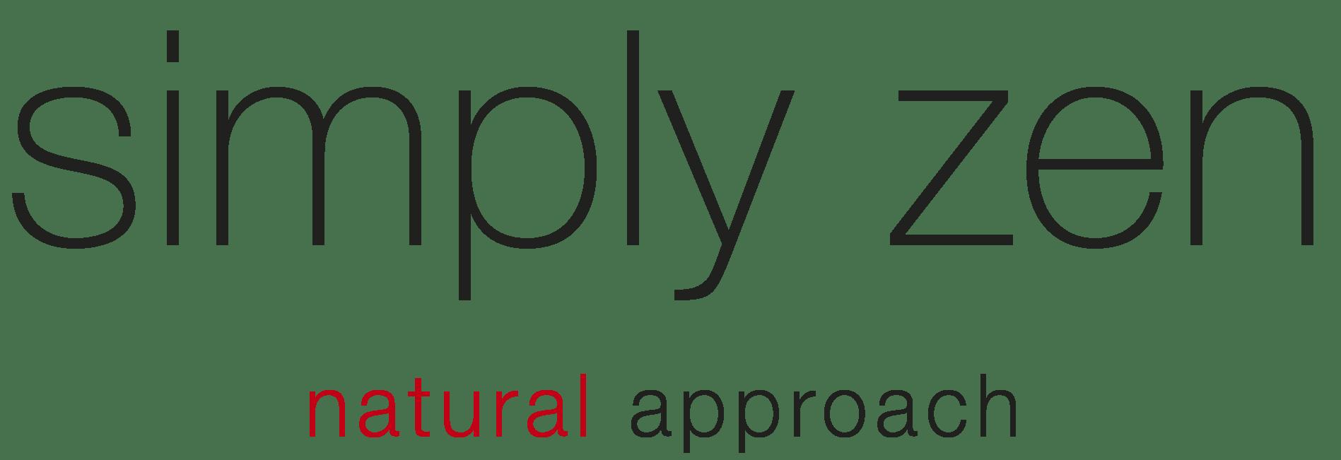 logo SIMPLY ZEN natural approch 1